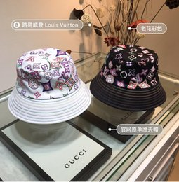 Discount rainbow yarn - Cap designer hat limited fisherman hat rainbow color matching casquette hats gorras bucket hat gorra snapback casquette