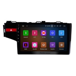 $enCountryForm.capitalKeyWord UK - 10.1 inch Android 9.0 Touchscreen Car Radio for 2014 2015 2016 HONDA FIT with Bluetooth GPS Navigation 4G WIFI USB AUX support car dvd