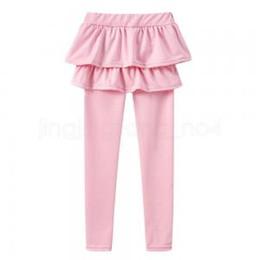 cde435d96e5bb Girls Tutu Skirts Pants Kids Pantskirt Falbala Skorts Children Princess Leggings  Tights Safe Under Wear Dress Trouser IIA275 100pcs