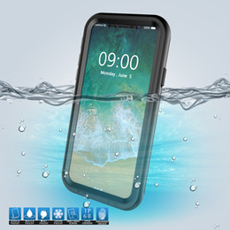 $enCountryForm.capitalKeyWord NZ - IP68 Real Waterproof Phone Case For iPhone XR XS Max Under Water Case Full Protection Cover For iPhone X 8 7 Plus 6 6S Plus Soft TPU Cases