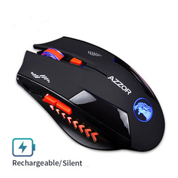 Batteries Usb Mouse Australia - Wireless Mouse Optical Mouse Gaming Silent usb rechargeable Mice 2400dpi Built-in Battery For PC Laptop Computer Noiseless