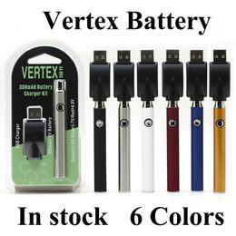 Venta al por mayor de Vértice del CO2 VV Precalentar batería kits de batería LO Co2 aceite vaporizador O Pen 510 Vape pluma de precalentamiento baterías 350mAh Cartucho Ce3 Bogo