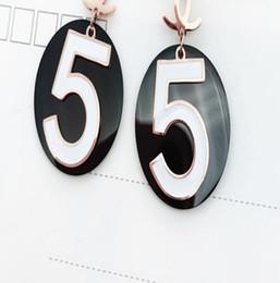 $enCountryForm.capitalKeyWord Australia - Fashion new designer titanium steel rhinestone anchor earrings ladies high quality earrings jewelry gift accessories fast delivery1