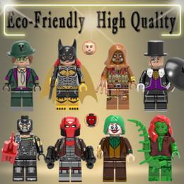 Marvel Blocks Figure NZ - Marvel Avengers Super Heroes Bane Riddler Scarecrow Joker MINI Building Blocks Bricks figures Toys For Children X0227