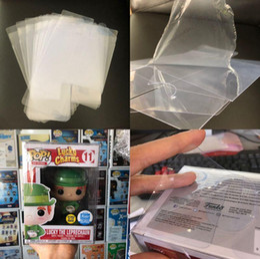 "Crystal Box For Case Australia - Protection Case for Funko Pop 3.75"" Non-toxic PVC Funko Pop Protector Crystal Clear Box Protect Plastic With Protective Film No Figure New"