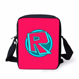 Skull Kid Figure Australia - Roblox Figure Messenger Bag For Kid Boys Girls Small Cross Body Bag Cute Roblox Toys Printing Women Men Travel Shoulder Bags