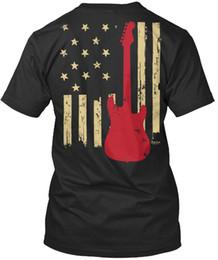 Guitar Tees Australia - 2019 mens designer t shirts shirt luxuryAmerican Guitar Player Premium Tee T-Shirt