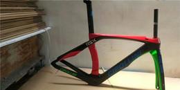 Road Bicycles Frames Australia - 3k 1k carbon fiber frame carbon frame ultra light T1000 all-in-one bicycle road frame RB1K red