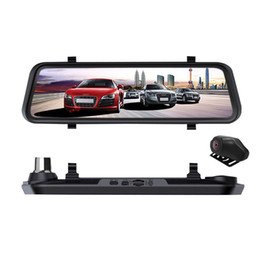 Medium Degree NZ - 2019 Streaming Media Car DVR Touch Screen 1080P HD Night Vision Rearview Mirror Driving Recorder Large New Style Dash Camera
