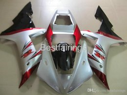 Fairing Red For Yamaha R1 Australia - 100% Fitment. Hot sale Injection molding fairing kit for YAMAHA R1 2002 2003 white red black fairings YZF R1 02 03 VV45