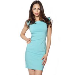 fb68c86cca8 Dolman sleeve cocktail Dress online shopping - Bodycon Women Dresses Formal  Square Collar Short Sleeve Pencil