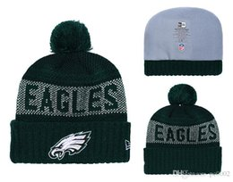 $enCountryForm.capitalKeyWord Australia - Men's Philadelphia Eagles New Green 2018 Sideline Cold Weather Official Gray Black Super Bowl LII Champions Parade Cuffed Pom Sport Kni