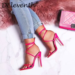 $enCountryForm.capitalKeyWord NZ - Hot Sale-Top quality 2019Designer luxury style Patent Leather Thrill Heels Women Unique Letters Sandals Dress Wedding Shoes Sexy Brand shoes