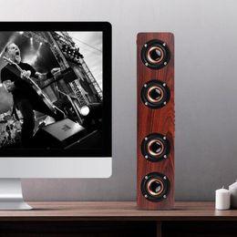 $enCountryForm.capitalKeyWord Australia - Fashion W8 Wooden HIFI Bluetooth Speaker Loudspeakers Professhional Speaker Surround Music Player Wood Wireless Speaker For Phone Computer