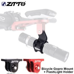 $enCountryForm.capitalKeyWord NZ - ZTTO Bicycle GoPro Camera Mount Adapter And TORCH Flashlight For Garmin Bryton igpsport Road Bike Computer GPS Handlebar Holder #738613