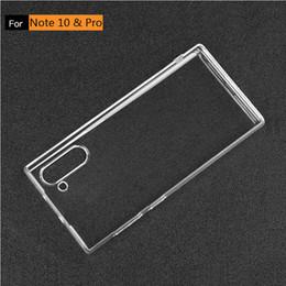 мягкий чехол для samsung galaxy note 10 Pro S10e S9 S8 A50 A80 A90 PLUS ТПУ прозрачный прозрачный силиконовый чехол Note 10 на Распродаже