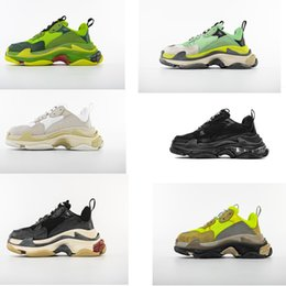 Wholesale Hot Fashion Paris FW Triple S Sneaker Triple S Casual Dad Shoes for Men s Women CHINA TOP QUALITY Sports Designer Shoe Size