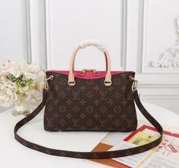 $enCountryForm.capitalKeyWord Australia - M41243 BB rose red handbag WOMEN HANDBAGS ICONIC TOP HANDLES SHOULDER BAGS TOTES CROSS BODY BAG CLUTCHES EVENING