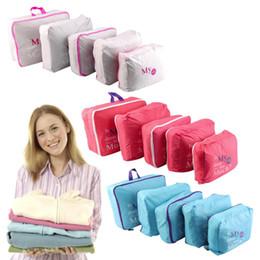 Pack Set Australia - 5pcs Set Waterproof Clothes Storage Bags Packing Cube Travel Luggage Organizer Bag Worldwide store