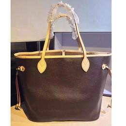 Mulheres sacola famosa marca big shopper sacos de impressão floral bolsas de couro genuíno das mulheres bolsa para laptop de negócios 40996 com bolsa cluth