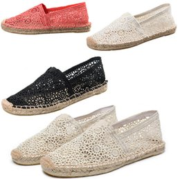 467d572b26447 Women Beige Hemp Handmade Rubber Sole New Fashion Comfortable Beach Shoes