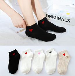 e8a3fc5d6 Girls heart socks online shopping - High quality women socks summer candy  color cotton red heart