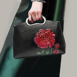 $enCountryForm.capitalKeyWord Australia - Fashion Women Handbag Genuine Leather Soft Top Leather Multifunction Top-handle Bag Lady Shoulder Crossbody Messenger Bags Pack