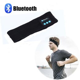 Auricolare Bluetooth sonno Cuffie senza fili Bluetooth sonno Auricolari fascia delle cuffie di sport fascia con lo Yoga per dormire in esecuzione in Offerta