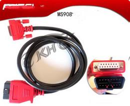 Obd Tools Bmw Canada - 100% Original for Autel Maxidas MS908 905 Main Cable OBDII 908 905 Test Cable For Diagnostic Tools MS 908905 OBD 2 Cables