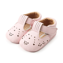 t girl shoes Australia - Baby Girl Summer Sandals, Hollow Out Design Spring Summer Single Shoes Princess Crib Shoes for 0-18 Months Baby