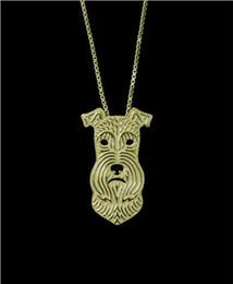 $enCountryForm.capitalKeyWord Australia - DANGGAO fashion Handmade Miniature schnauzer pendant Necklace for women chain choker necklace Pet Lovers Gift Idea