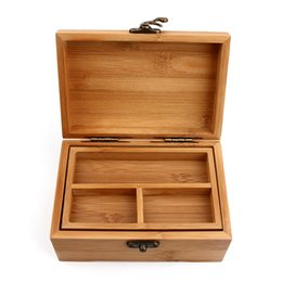 China Wooden Box Vintage Storage Box Wood Jewelry Multiple Lattice Makeup Organizer Cosmetics Wooden Caskets Container Engraving supplier wood makeup storage suppliers