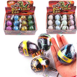 $enCountryForm.capitalKeyWord Australia - 12 4x Large Water Hatching Dinosaur Egg Inflation Water eggs Cracks Growing Dino Egg Educational Science Toys For Children (S5 SH190913