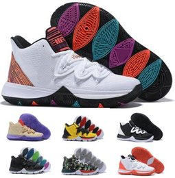 ff7de97f98c Taco 5 Basketball Shoes Sneakers Mens Man 2019 White Magic Ikhet Bred Neon  Blends PE 3 Mamba Concepts Kyrie Designers Baskets Ball Shoes