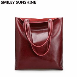 $enCountryForm.capitalKeyWord Australia - Vintage Real Genuine Leather Handbags Big Women Hand Bags Female Shopper Hangbags High Quality Office Ladies Shoulder Bags 2019 T190913