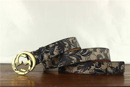 $enCountryForm.capitalKeyWord NZ - High qualtiy Belts for men smooth buckle belt fashion design belts mens Genuine leather belt without box RT453a
