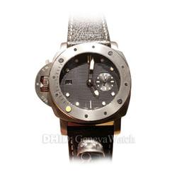 $enCountryForm.capitalKeyWord UK - Luxury Mens Watches 00569 P9000 Automatic Watch Limited Edition 47mm Titanium Case Leather Band Swim Diver Wristwatches fashion watch man