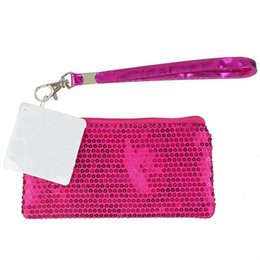 94497ffeb615a Sequin Clutch Purse Metallic Coin Purse Children Sequin Clutch Purse Wallet with  top zipper and key ring Mini Bags Fashion Accessory Pocket