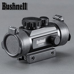 $enCountryForm.capitalKeyWord Australia - BUSHNELL 1X30 Holographic Riflescope Hunting Optics Scope Red Green Dot Tactical Sight For Hunting With Scope Cover