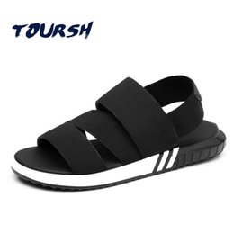 $enCountryForm.capitalKeyWord Australia - TOURSH Plus Size 34-47 Couple Shoes 2018 New FashionMen'S Sandals Slippers Lovers Summer Casual Shoes Hand Sewing Outdoor Beach