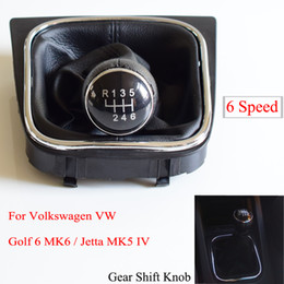Vw jetta mk6 accessories online shopping - For Volkswagen VW Golf MK6 For Jetta MK5 MT Car Gear Shift Knob Lever Stick Shifter Dust Proof Cover Car Accessories