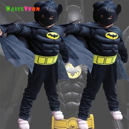 $enCountryForm.capitalKeyWord Australia - Halloween Superhero Spiderman Children Superman Boy Anime Performance Clothes Suit Kids Party Carnival Cosplay Batman Costume J190715