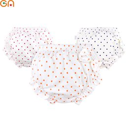 Wholesale Infant Underwear Australia - Kids 100% Cotton shorts Girls,Baby,Infant,fashion Bow,Dots Underwear Panties For Children Cute High-quality Underpants gifts CN