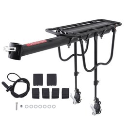 $enCountryForm.capitalKeyWord NZ - Quick Release Aluminum Alloy Bicycle Rack Bike Luggage Carrier MTB Bicycle Mountain Bike Cycling Rear Rack Seatpost Bag Holder #262580