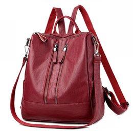 $enCountryForm.capitalKeyWord Canada - Brand Vintage Women Backpack Soft Fashion School Backpacks For Teenage Girls Casual Large Capacity Shoulder Bags Travel Bag