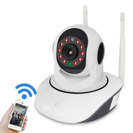 Wholesale V380 P IP NETWORK WIFI HD SECURITY CCTV CAMERA Degree PTZ IR CUT IP ROBOT3 SD H Wireless Camera Supports GB