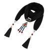 $enCountryForm.capitalKeyWord Australia - New multi-color fashionable fringe design scarf jewelry necklace pendant women's headscarf free shipping