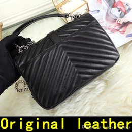 $enCountryForm.capitalKeyWord NZ - Saint Original sheepskin Designer Handbags high quality Luxury Handbags Famous Brands women bags Real Original Genuine Leather Shoulder Bags