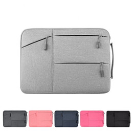 Pink notebook laPtoPs online shopping - Laptop Carrying Case for inch MacBook Notebook Tablet Bag Ultra Light Weight Oxford Laptop Bags Business School