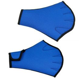 Paddle Sports Australia - Paddle Training Fingerless Gloves Sphere Webbed Swim Gloves Surfing Swimming Sports 1 Pair